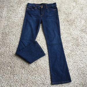 Joe's Jeans Blue Dark Wash Designer Bootcut Jeans